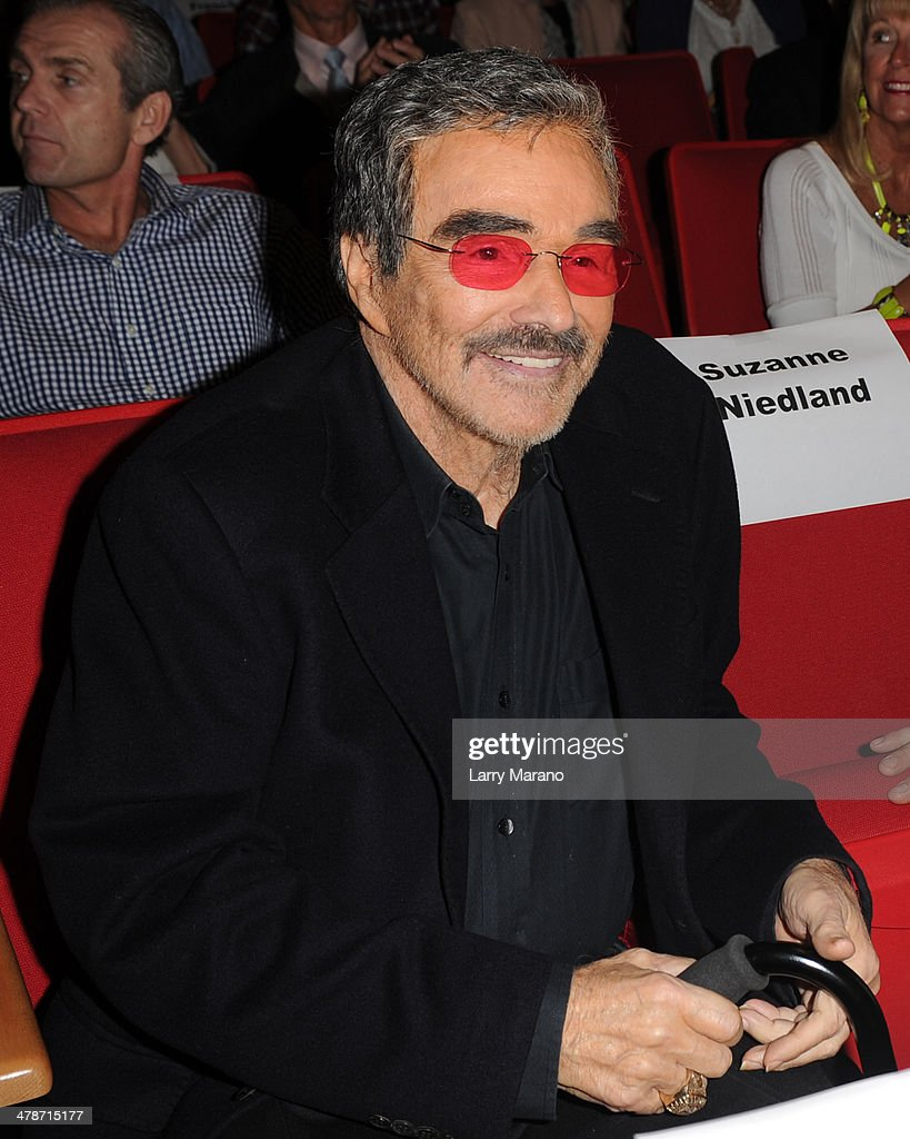 Burt Reynolds attends the 2014 Student Showcase of Films at Lynn University on March 14, 2014 in Boca Raton, Florida.