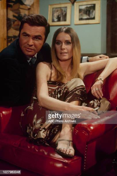 Burt Reynolds Diana Hyland appearing in 'Dan August' 'Days of Rage' Airdate March 25 1971
