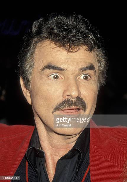 Burt Reynolds during NAPTE Convention January 27 1993 at Moscone Convention Center in San Francisco California United States