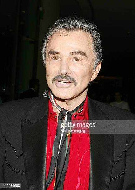 Burt Reynolds during The Motion Picture and Television Fund's 24th Golden Boot Awards Inside at The Beverly Hilton in Beverly Hills CA United States