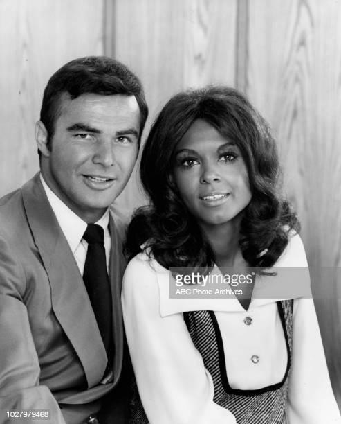 Burt Reynolds Ena Hartman promotional photo for 'Dan August' May 13 1970