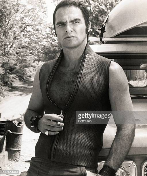 Burt Reynolds in a scene from the 1972 film Deliverance