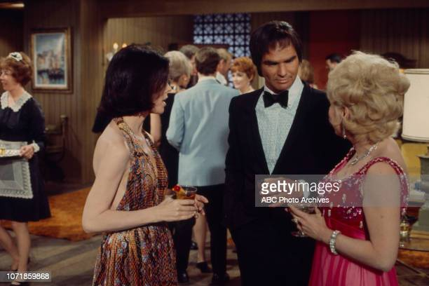Burt Reynolds Joyce Jameson appearing in the Walt Disney Television via Getty Images's tv movie 'Run Simon Run'