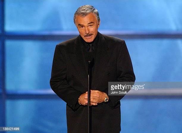 Burt Reynolds presents the Taurus Honorary Lifetime Achievement Award.