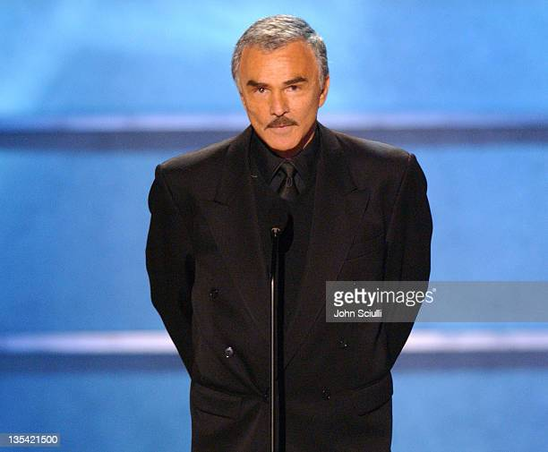 Burt Reynolds presents the Taurus Honorary Lifetime Achievement Award