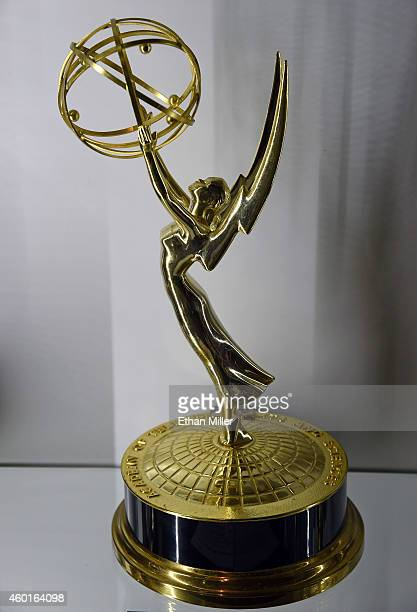Burt Reynolds' Primetime Emmy Award trophy for Outstanding Lead Actor in a Comedy Series for Evening Shade is displayed at Julien's Auctions' preview...