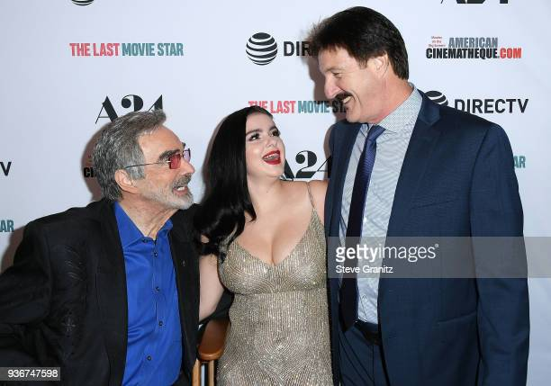 Burt ReynoldsAriel Winter Glenn Workman arrives at the A24 And DirecTV's 'The Last Movie Star' at the Egyptian Theatre on March 22 2018 in Hollywood...
