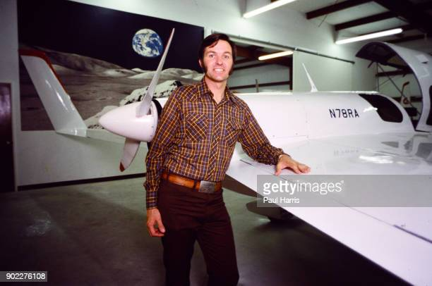 Burt Rutan founder of aerospace research firm Scaled Composites in 1982 and designer of Amsoil Racer Voyager Catbird Proteus and the Virgin Atlantic...