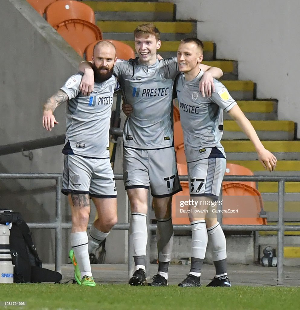 Blackpool v Burton Albion - Sky Bet League One : News Photo