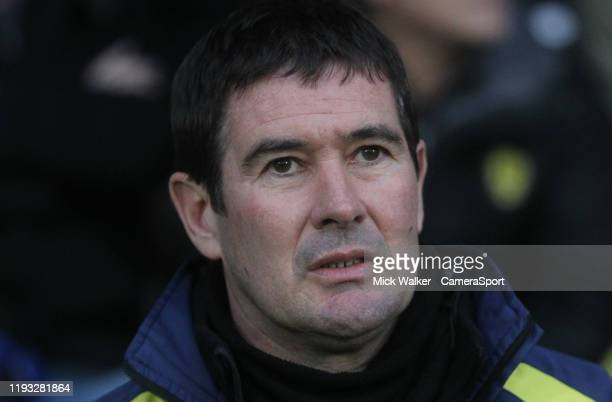 Burton Albion's Manager Nigel Clough during the Sky Bet League One match between Burton Albion and Fleetwood Town at Pirelli Stadium on January 11...