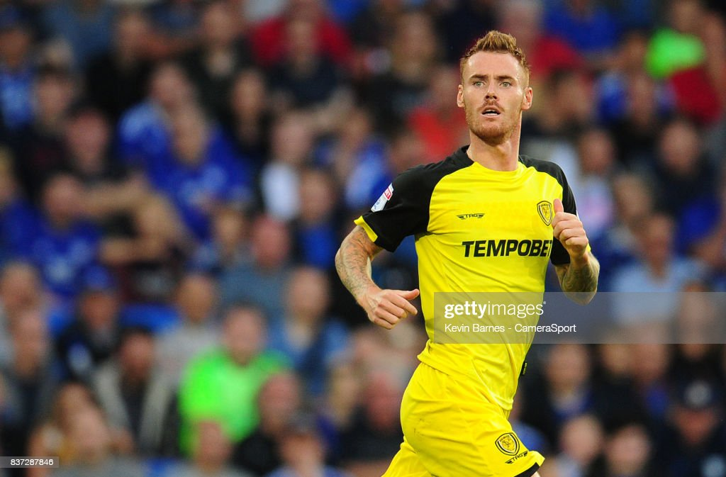 Burton Albion's Tom Naylor during the Carabao Cup Second Round match between Cardiff City and Burton Albion at Cardiff City Stadium on August 22, 2017 in Cardiff, Wales.