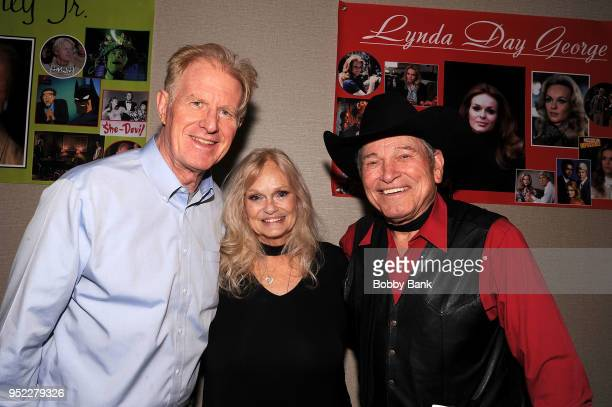 Burton Gilliam Ed Begley Jrand Lynda Day George attend Chiller Theatre Expo Spring 2018 at Hilton Parsippany on April 27 2018 in Parsippany New Jersey