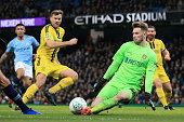 manchester england burton goalkeeper bradley collins