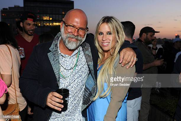 Burton Snowboards Chief Creative Officer Greg Dacyshyn and Burton Snowboards global PR director AnneMarie Dacyshyn attend the Burton Snowboards Apres...