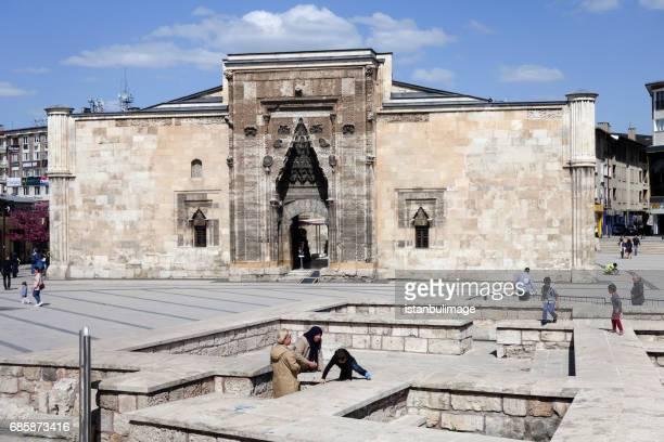 buruciye madrasah in sivas - central anatolia stock photos and pictures