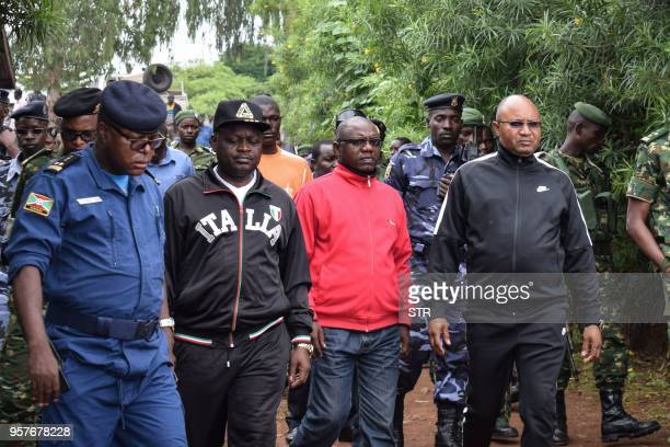 Burundi's minister of public security Alain Guillaume Bunyoni the Governor of Cibitoke Province Joseph Iteriteka the national security council...