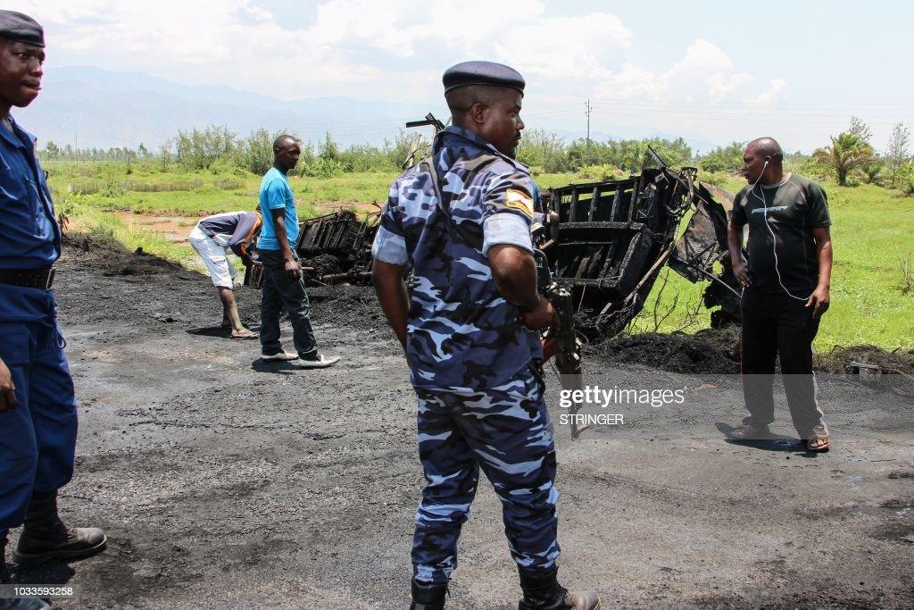 BURUNDI-DRC-UNREST-ATTACK : News Photo