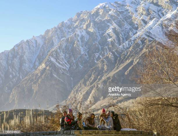 Burusho and Wakhi people living in the 200-kilometer long Hunza valley of Gilgit-Baltistan, start to live in mountainous regions that have a height...