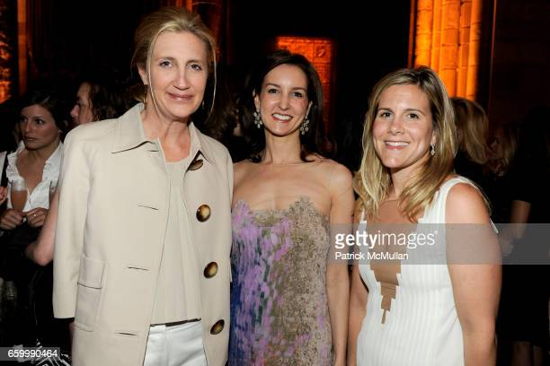Burwell Shore Alexia Hamm Ryan and Anne Citran attend FASHION SHOW and LUNCHEON for AKRIS at Cipriani 42nd Street on May 14 2009 in New York City