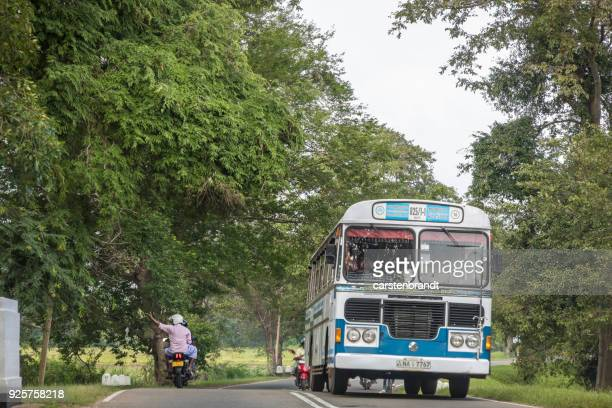 bus and motorcycle - passenger craft stock pictures, royalty-free photos & images