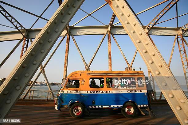 Bus Crossing Faidherbe Bridge