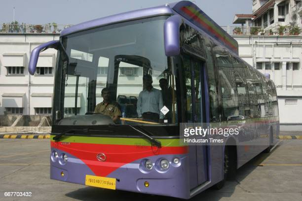 Bus GenNext Buses 47seater airconditioned CNG Buses of Cerita KingLong from China at Colaba