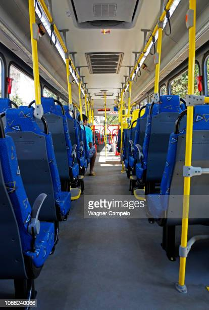bus interior in rio - 中南米 ストックフォトと画像