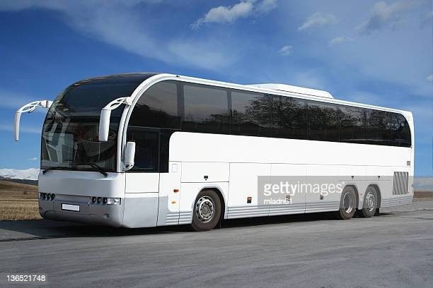 bus - coach stock pictures, royalty-free photos & images