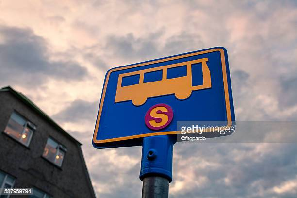 Bus Road signs