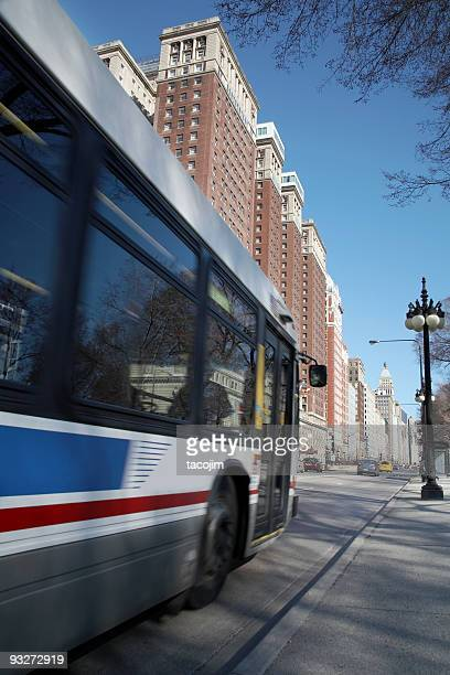 Bus Route In Chicago