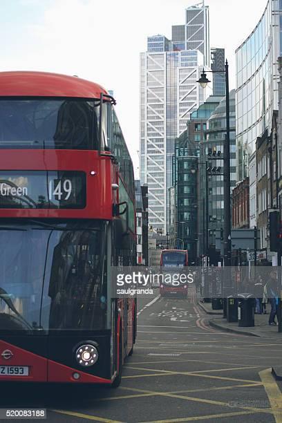 Bus, Shoreditch High St. near Bishopsgate, London