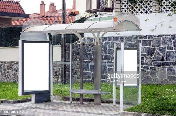 Bus stop (close up)