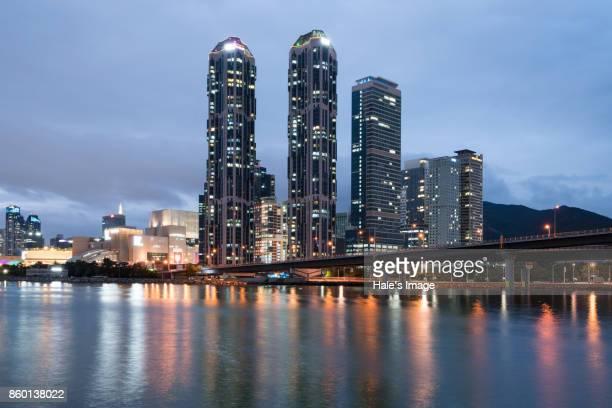Busan modern skyscrapers