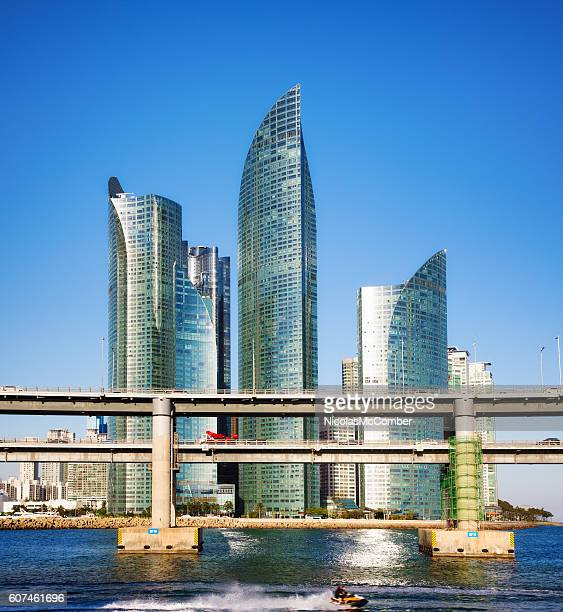 Busan South Korea modern skyscrapers