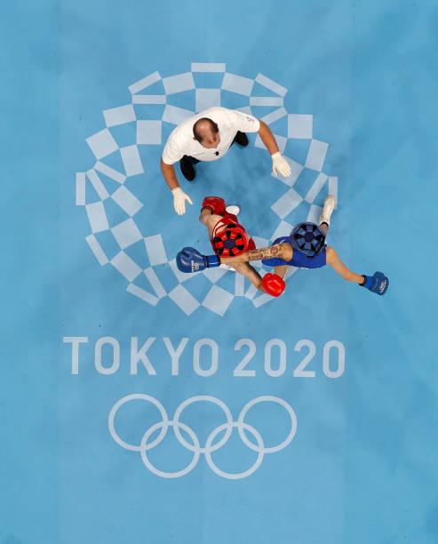 JPN: Boxing - Olympics: Day 12