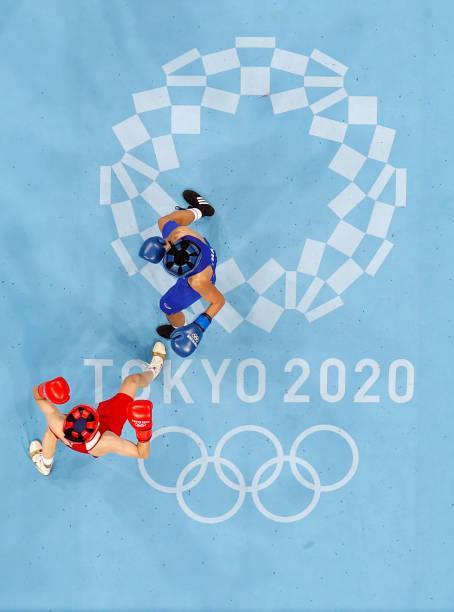 JPN: Boxing - Olympics: Day 9