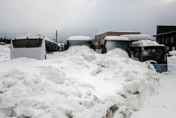 JPN: Heavy Snow Continues To Hit Parts Of Japan