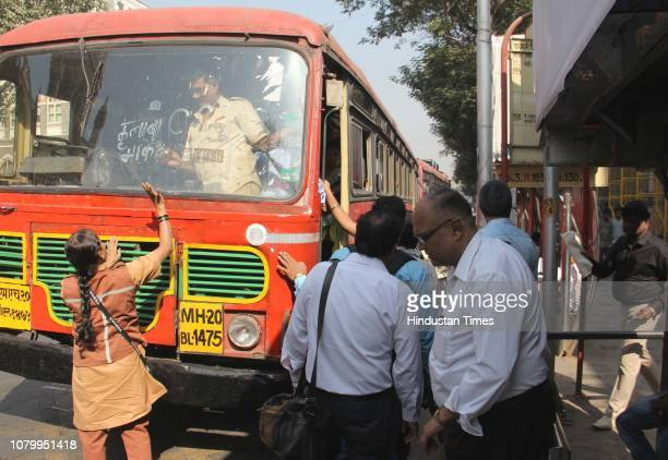 ST buses provide relief to the commuters as BEST buses off the roads after over 33000 employees of Mumbai's civic transport undertaking BEST went on...