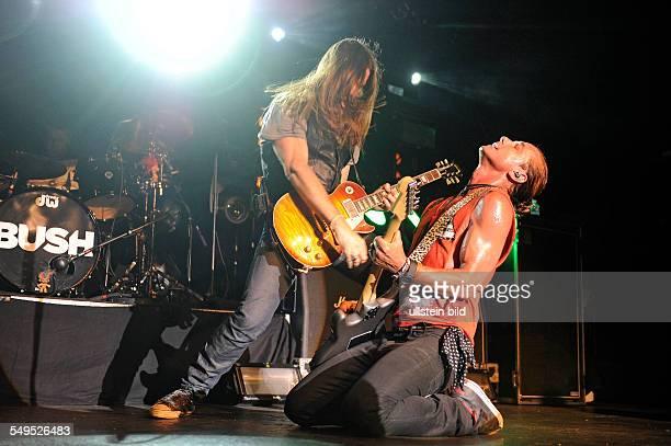 Bush die britische Rockband mit Saenger Gavin Rossdale bei einem Konzert in der Grossen Freiheit 36 in Hamburg