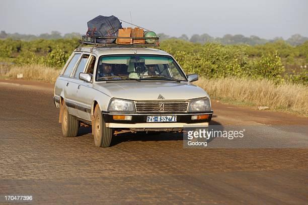 Bush taxi Ziguinchor Senegal