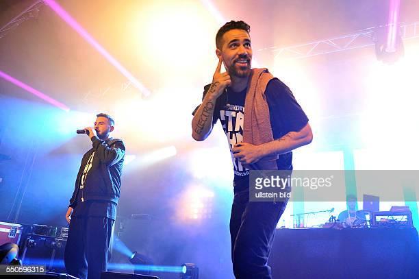 Bushido der deutsche Rapper bei einem Konzert in Hamburg Grosse Freiheit 36