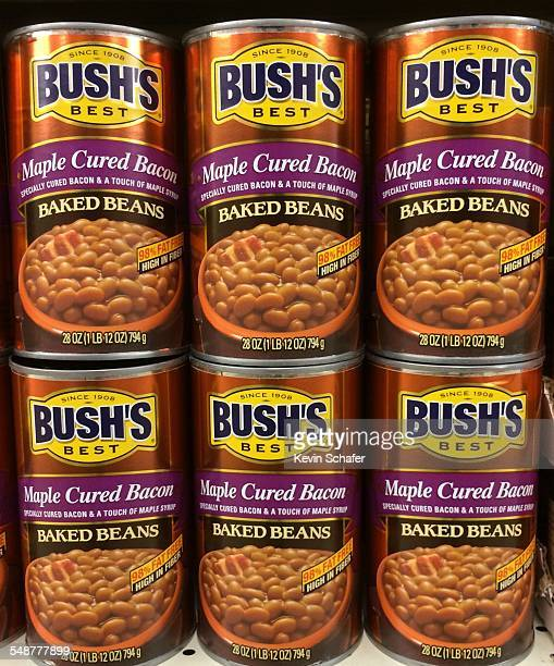 Bush's Baked Beans a traditional American food product in a can