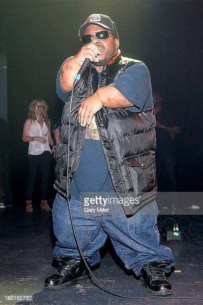 Bushwick Bill of the Geto Boys performs in concert at Emo's on January 26 2013 in Austin Texas