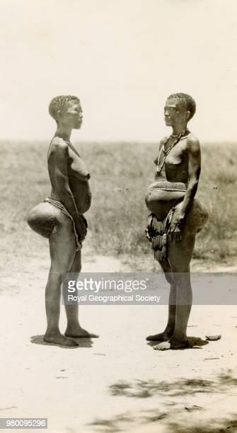 Bushwomen Kalahari Bechuanaland South Africa 1935