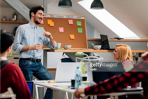 Business-Analysen in Ihrem Büro.