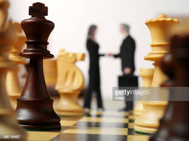 Business and Chess Piece Strategy