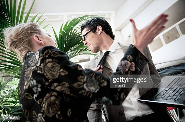 business argument - slapping stock pictures, royalty-free photos & images