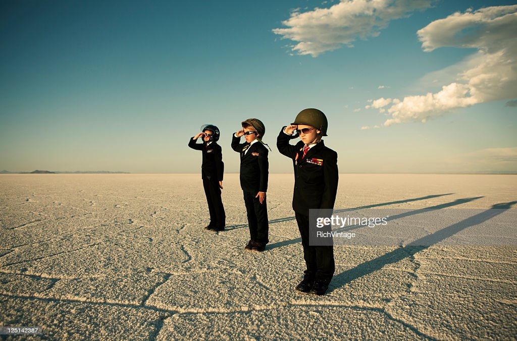 Business Army : Stock Photo