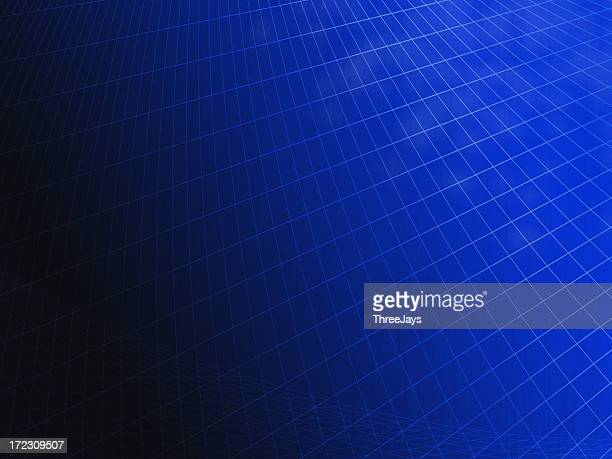 Business Background Blue