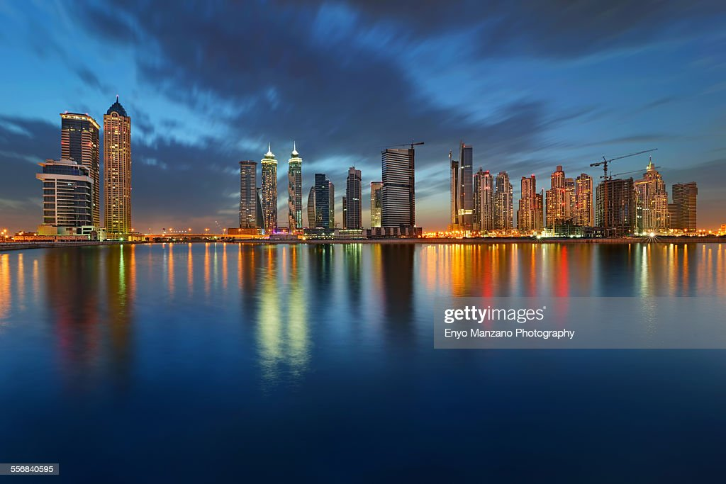 Business Bay Dubai : Stock Photo